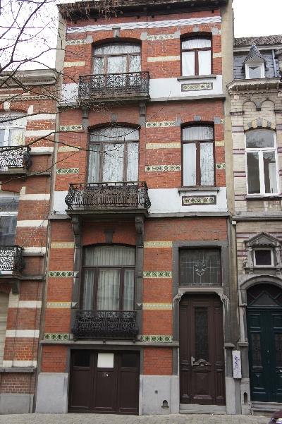 Maison vendre bruxelles quartier europ en for Maison minimaliste belgique